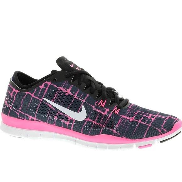 6233ce406b1b Nike Free 5.0 TR Fit 4 PRT in Black   Pink. M 5b5a0227fb3803fe0ebf80a1